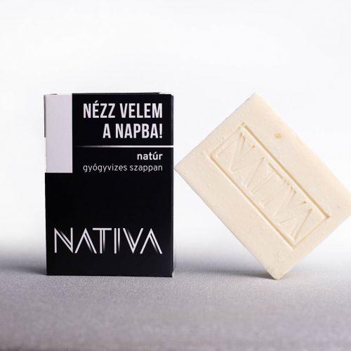 Natúr szappan gyógyvízzel